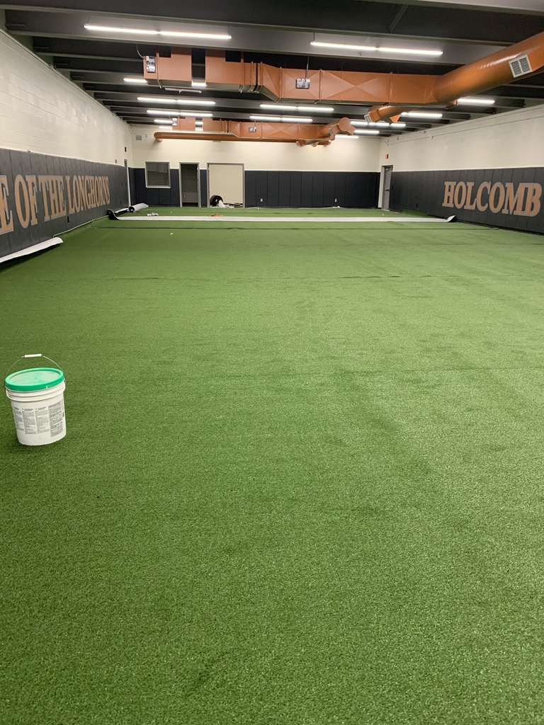 Turf in wrestling room